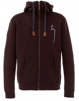 DOGGER Winterhoodie chocolatebrown